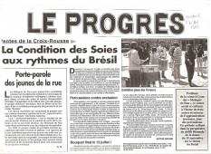 Le Progrés Lyon France