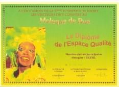 Niort France Diploma