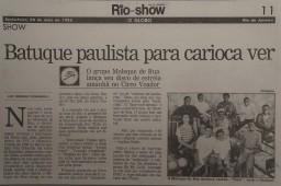 O Globo Rio de Janeiro 2